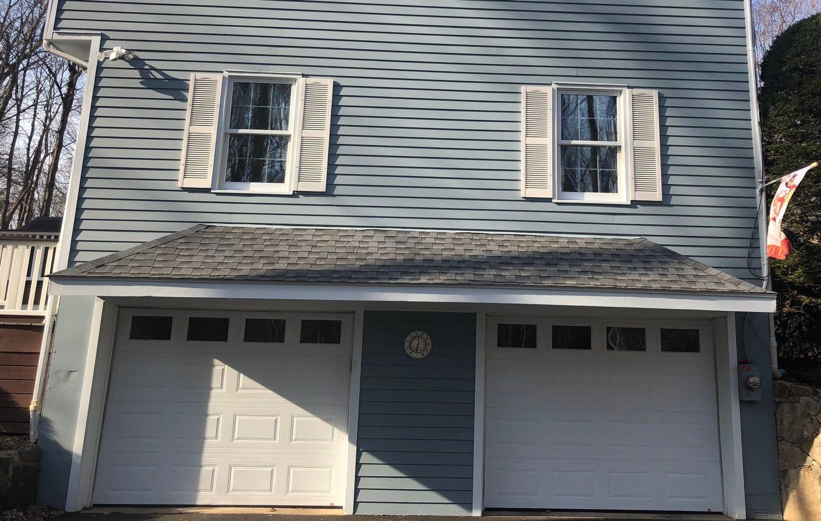 Garage Painting in Stamford, CT - After Photo