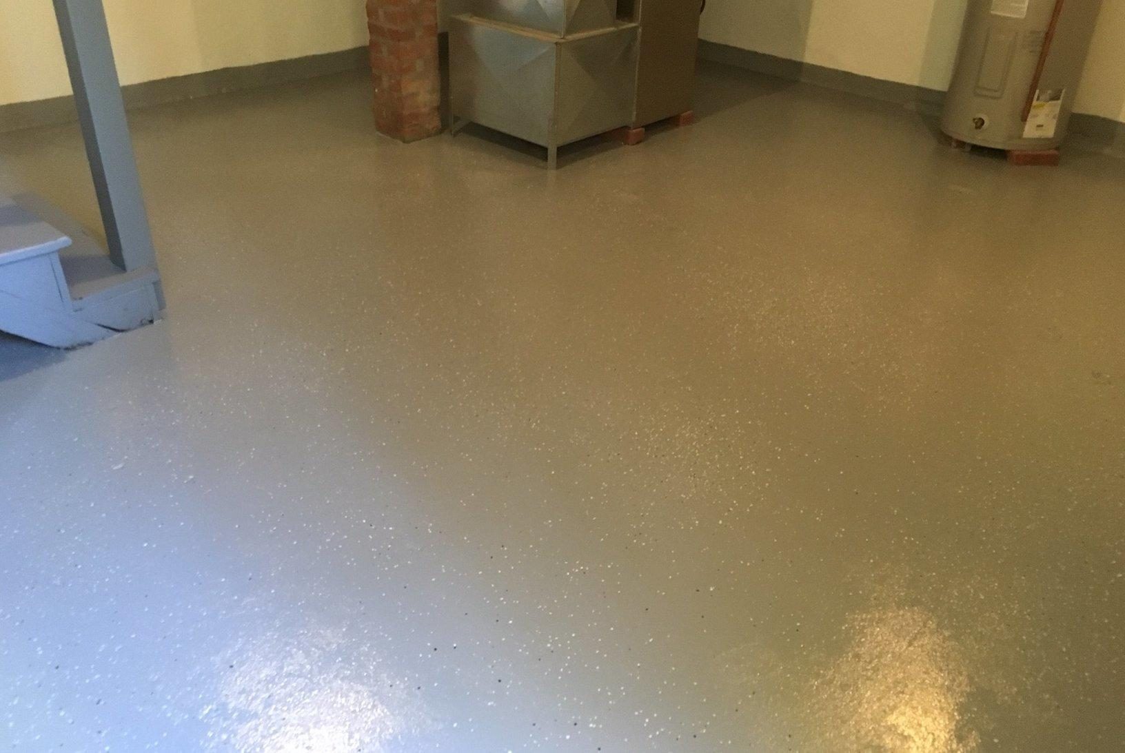Epoxy Floors in Madison, CT - After Photo