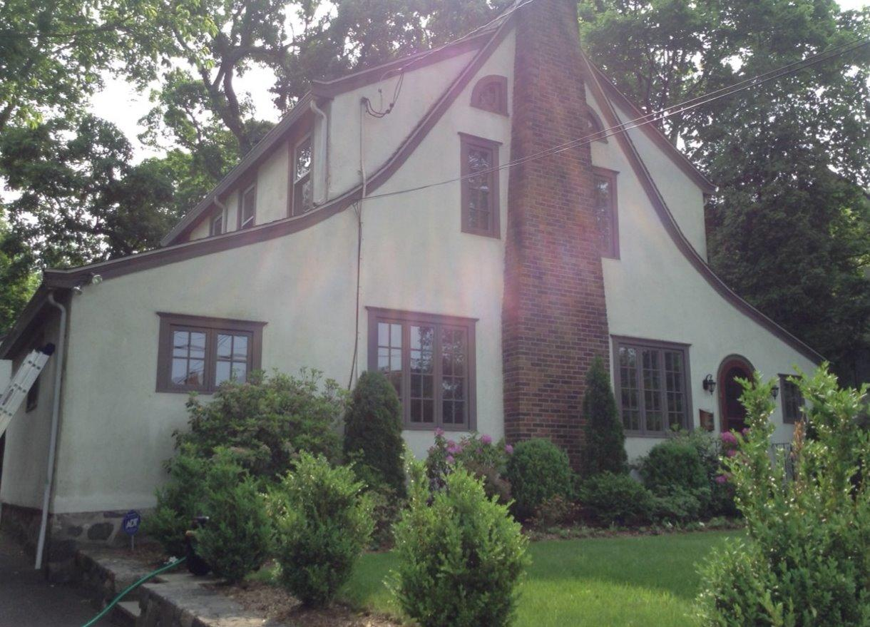 Power Washing in Cos Cob, CT - Before Photo
