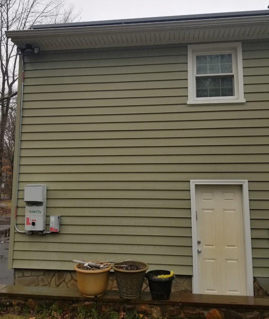 Pressure Washing in Southbury, CT - Before Photo