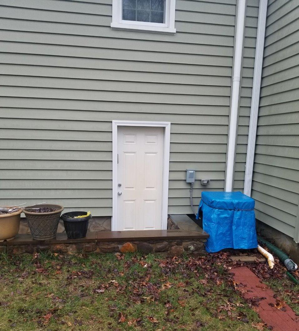 Pressure Washing in Southbury, CT - After Photo