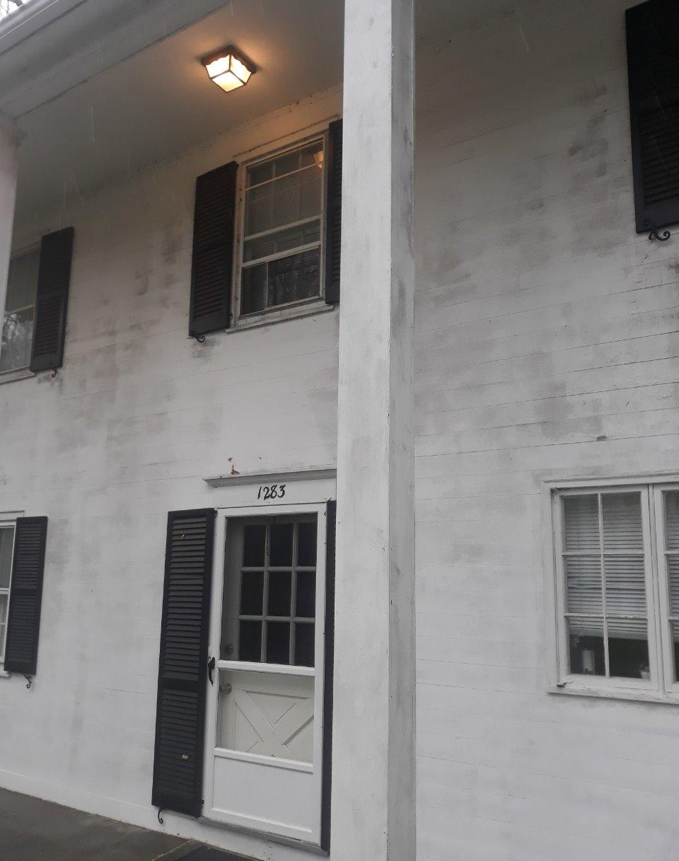 Commercial Painting for Fairfield University - Before Photo