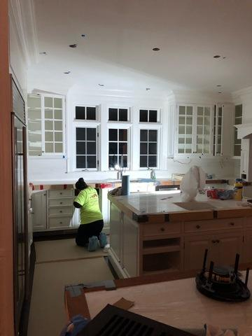 Interior Painting for Kitchen in Wilton, CT