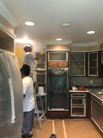 Cabinet Painting in Redding Ridge, CT