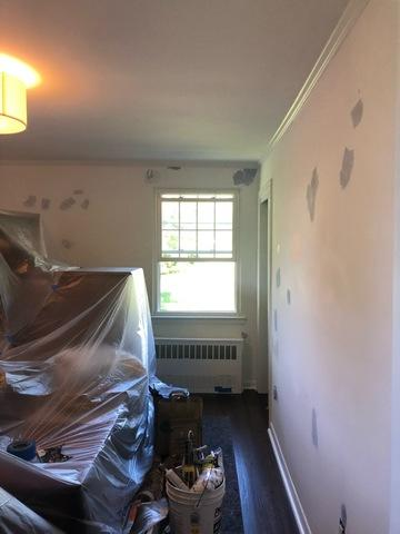 Interior Painting and Wall Patch in Old Greenwich, CT