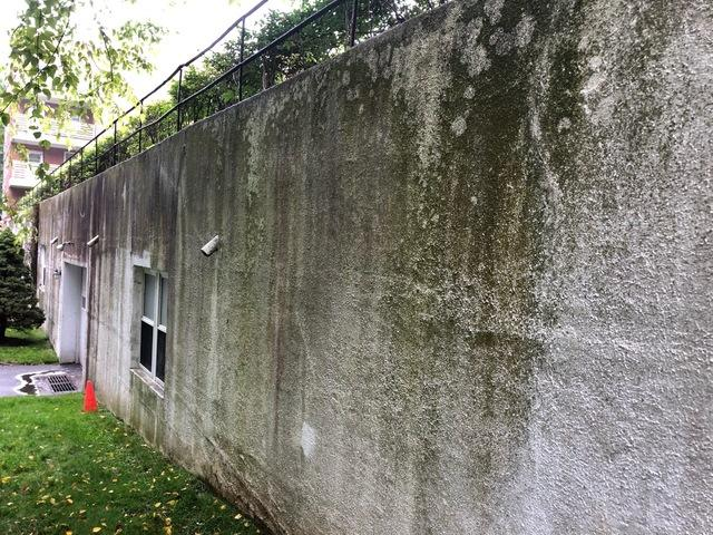 Power Washing Condos in Greenwich, CT - Before Photo