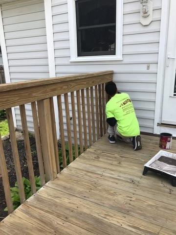 Deck Stain in East Haven, CT