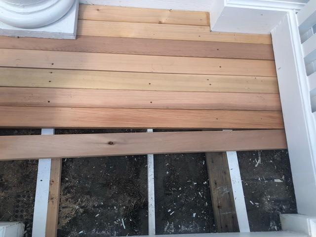 Carpentry Repair for Deck in Greenwich, CT