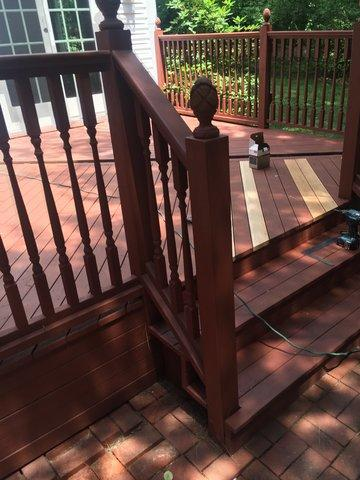 Deck Staining and Carpentry in Southport, CT