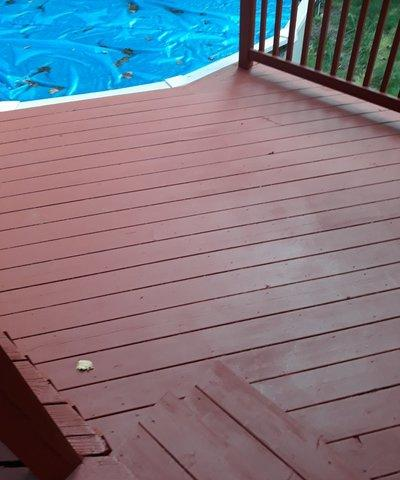 Deck Staining in Wallingford, CT