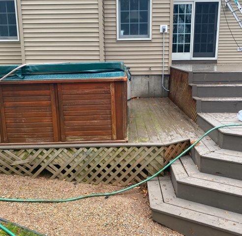 Deck Staining in North Branford, CT