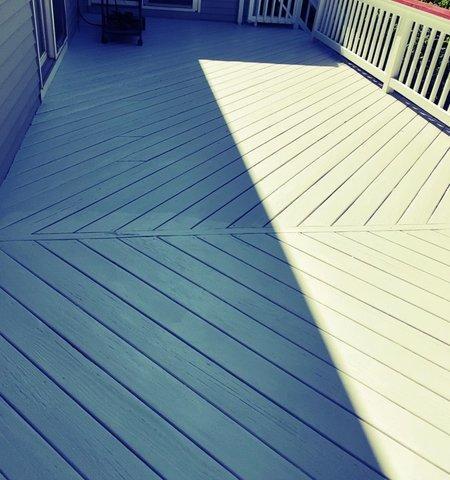 Deck Staining in Darien, CT