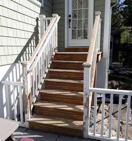 Step Staining in Riverside, CT