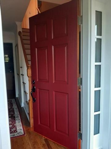 Front Door Painting in Stamford, CT