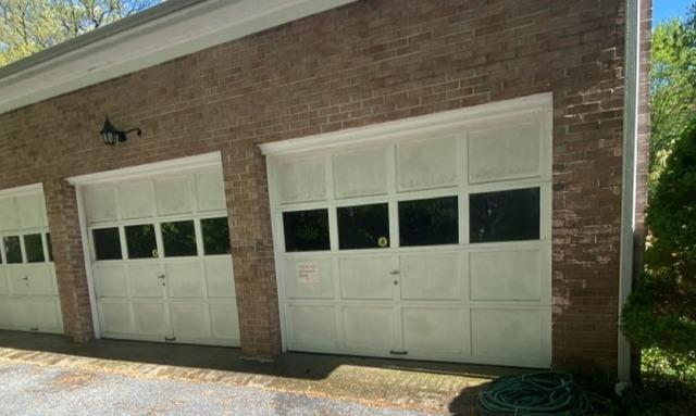 Exterior Brick Power Wash in Greenwich, CT - Before Photo