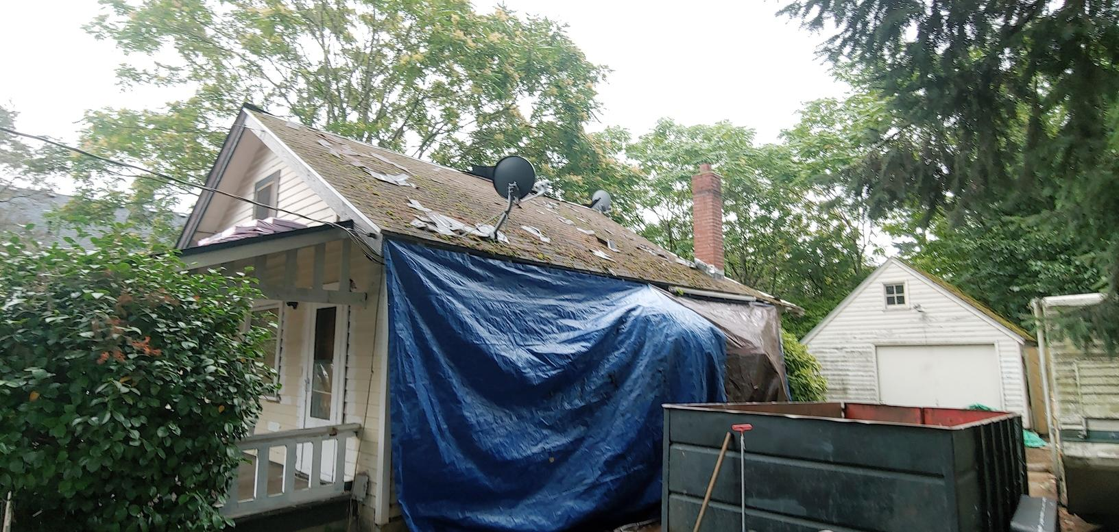 Owens Corning Roofing Replacement in Portland, OR - Before Photo