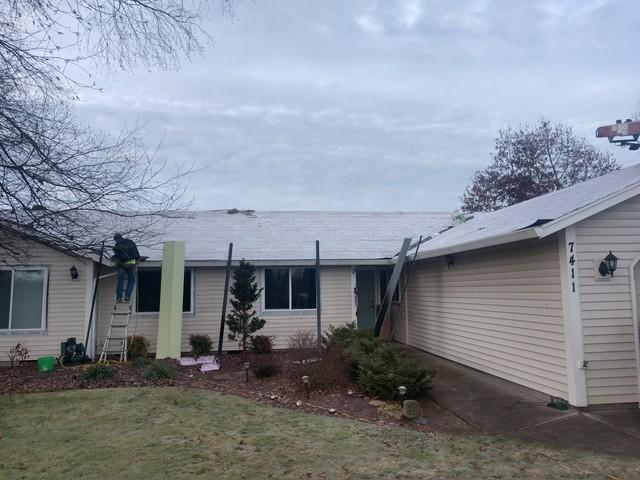 Vancouver, WA Fiber Cement Siding Replacement - Before Photo
