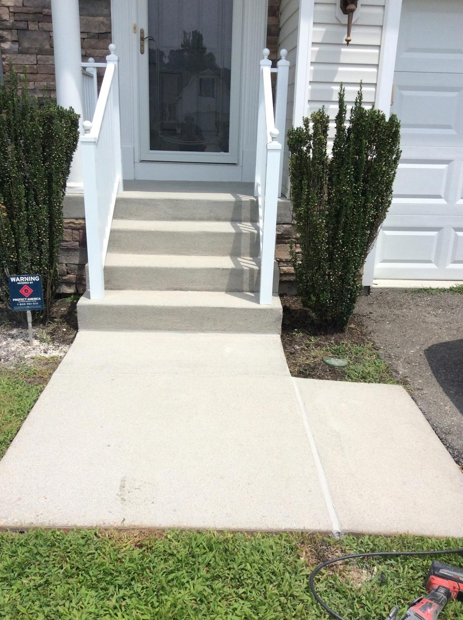 Concrete Leveling in Toano, VA - After Photo