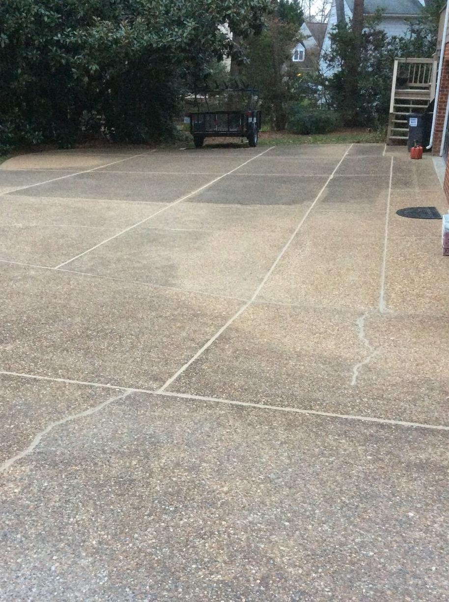 Concrete Sealing in Henrico, VA - After Photo