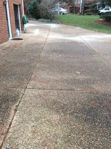 Concrete Sealing in Henrico, VA - Before Photo