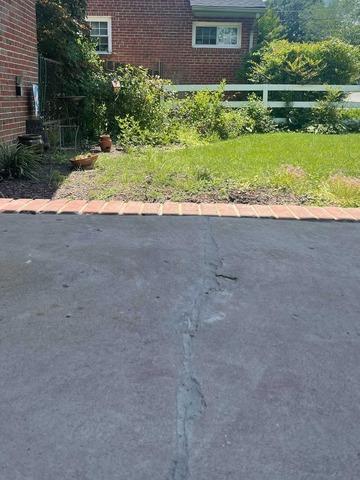 Concrete Driveway Repair in Richmond