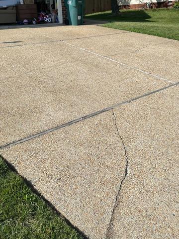 Concrete Driveway Repair in Glen Allen