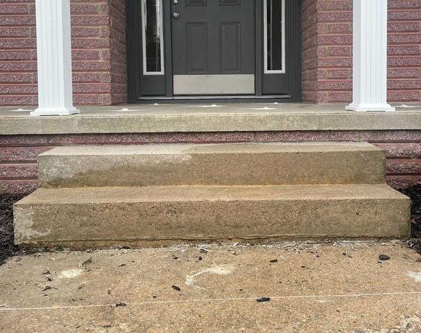 Concrete Porch Lifting/Leveling in Colonial Heights