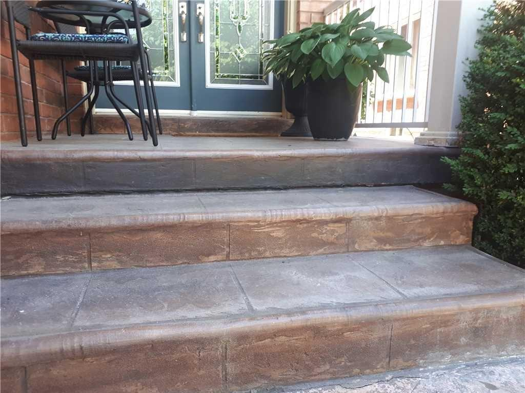 Front Garden Tarnished by Sinking Concrete in Mississauga, Ontario - After Photo