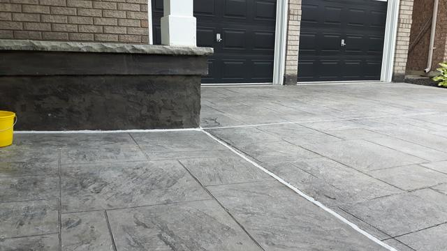 Concrete Leveling in Oakville, ON - After Photo