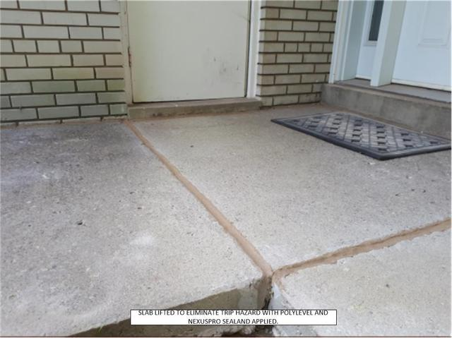 Lifted Slab Caused Indoor Water Damage, Thornhill, ON