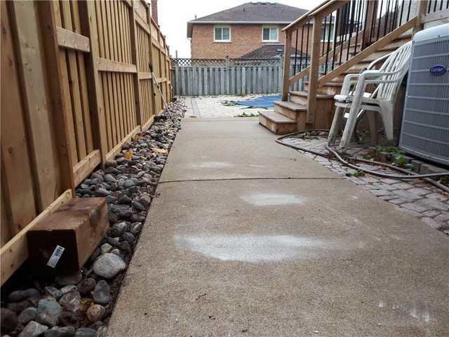 Side Walkway Causing Hazard, Oakville, ON - After Photo