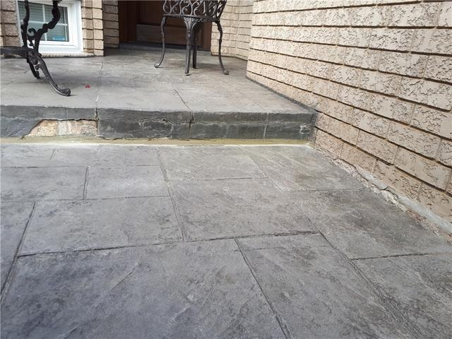Solution for a Sinking Walkway, Maple, ON