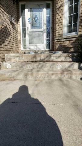 Sunken Front Steps Cause Tripping Hazard in Brampton, Ontario
