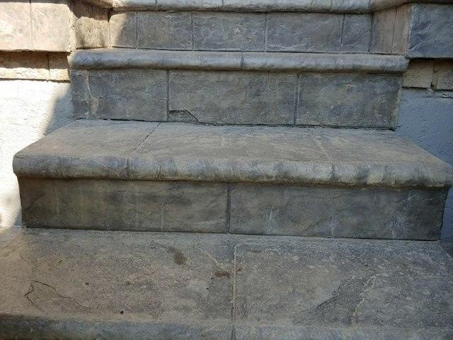 Sunken Stairs, Lifted with PolyLevel® in Mississauga, ON