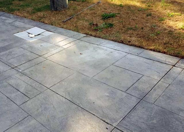 Poor Fill Soils Lead to Brand-New Driveway Sinking in Richmond Hill, Ontario