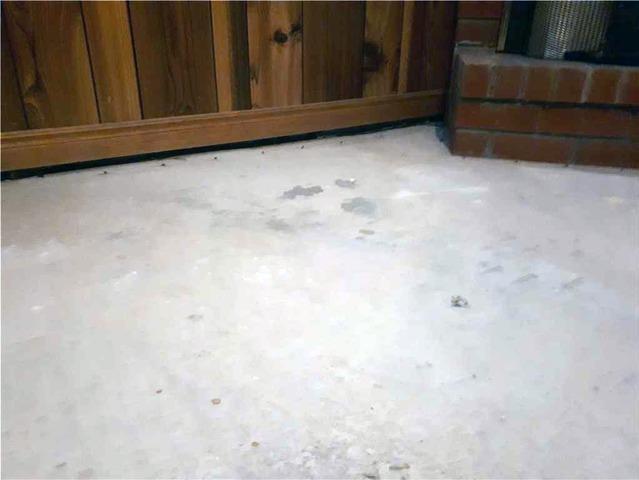 Sinking Concrete Slopes Basement Floor in Brampton, Ontario