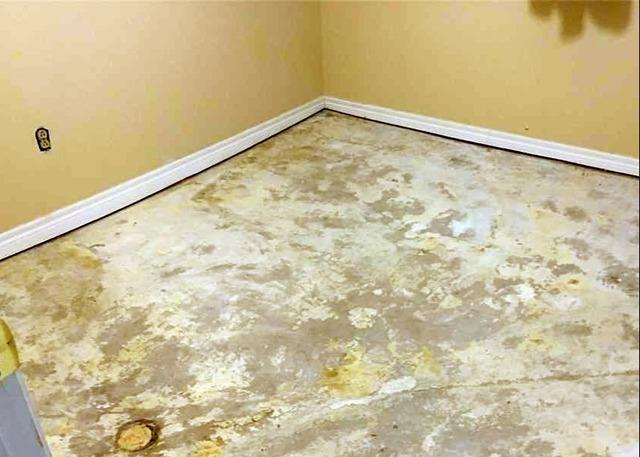 Soil Void Causes Basement Floor to Sink in Peterborough, Ontario
