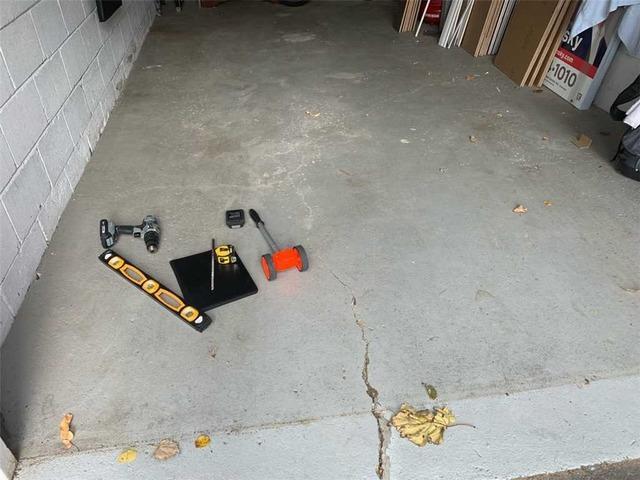 Void Causes Garage Floor to Sink in Etobicoke, Ontario