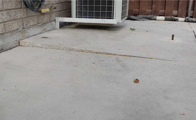 Sinking Concrete Threatens Older Customer in Woodbridge, Ontario