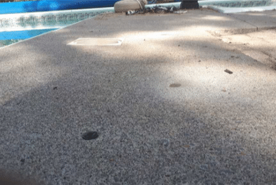 Sinking Pool Deck Puts Family at Risk in Brooklin, Ontario