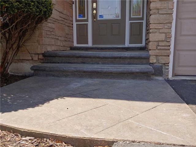 Sinking Concrete Leaves Older Customer Worried in Caledon, Ontario
