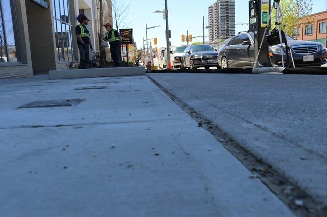 Historical Concrete Sinks in Toronto, Ontario