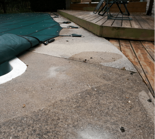 Sinking Concrete Postpones New Deck Build in North York, Ontario
