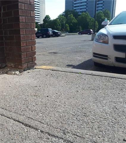 Sinking Walkway Threatens Customers at Plaza in Ajax, Ontario