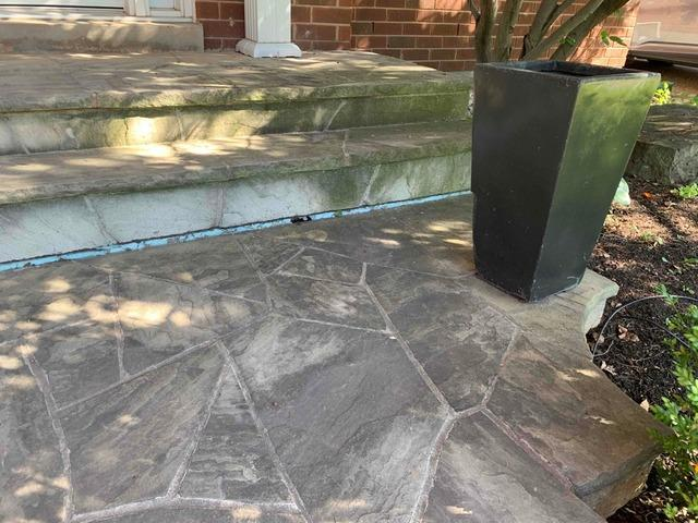 New Homeowners Deal with Sinking Front Step in Oakville, Ontario