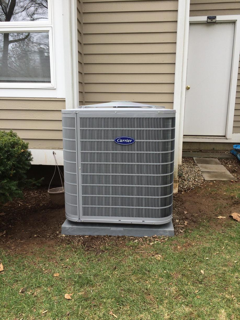 Before and After Air Conditioning Replacement in Branford, CT - After Photo