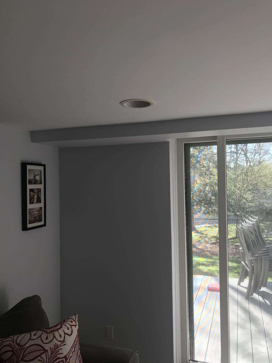 Carrier ductless installation done in Cos Cob, CT! - Before Photo