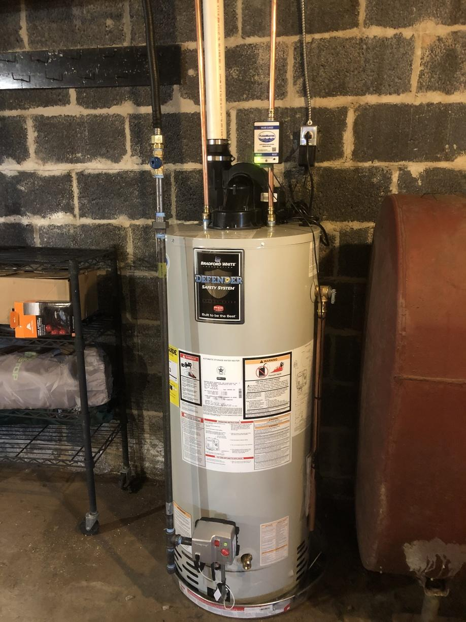 Hot water heater installation done for our customer in Branford, CT! - After Photo