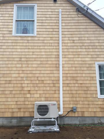 Ductless Heating and Cooling Installation in Old Saybrook, CT!