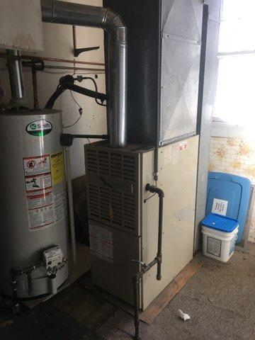 Another fantastic furnace replacement done in Branford, CT!